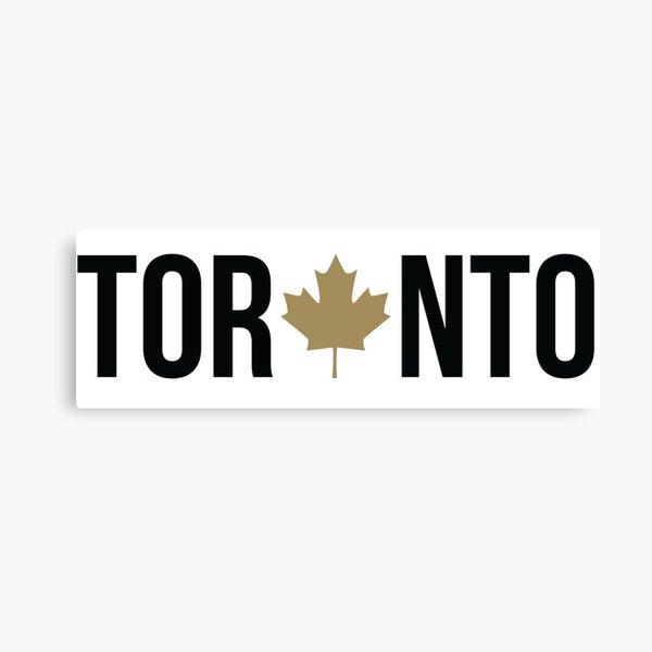 Toronto Maple | OVO Colorway Canvas Print