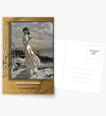 Card with Acrostic for a beloved one Postcards