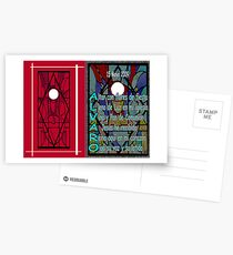 Holy Communion Card with Acrostic Postcards