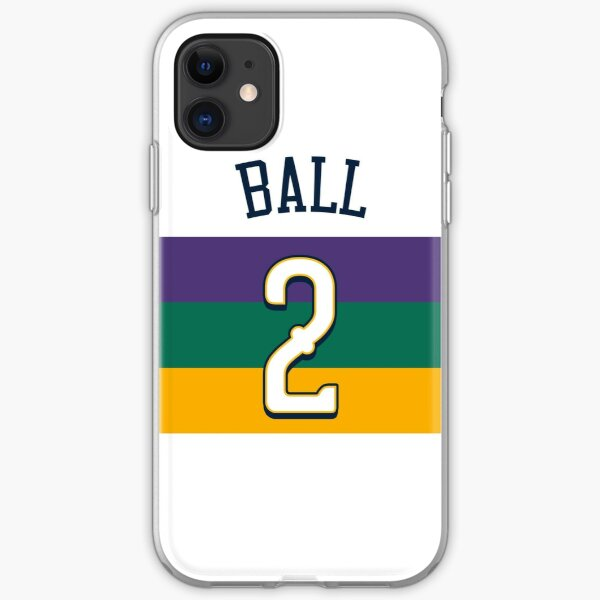 Copy of Lonzo Ball Pelicans iPhone Soft Case