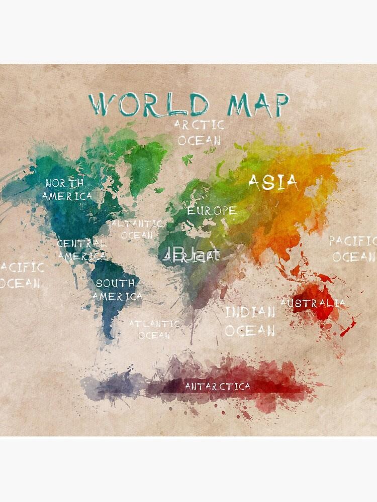 world map 14 by JBJart