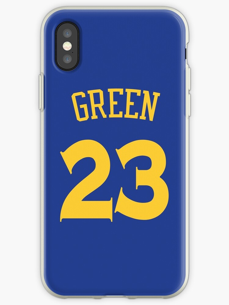 newest a8247 9edde 'Draymond Green Jersey' iPhone Case by csmall96