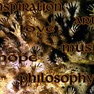 From Dust I came, Dust I shall be; What Hand Print Will I leave On the Wall Of Life?   by AnimiDawn