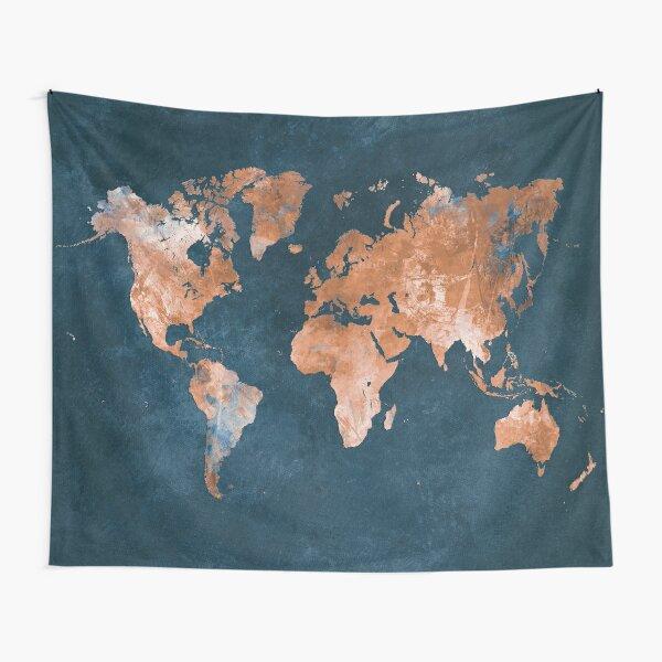 world map 15 #map #worldmap Tapestry
