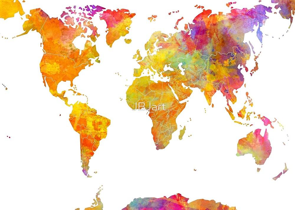 world map 23 #map #worldmap by JBJart
