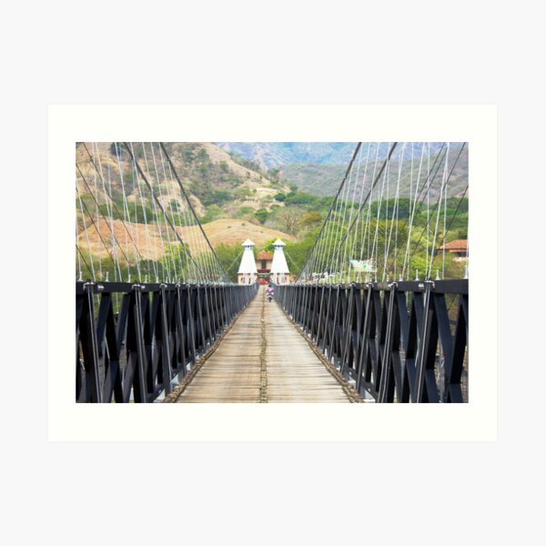 WEST BRIDGE ( PUENTE DE OCCIDENTE) Art Print