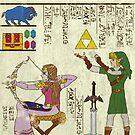 Hero-glyphics: Hyrule History by joshln