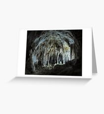 The Dollhouse - Carlsbad Caverns Greeting Card