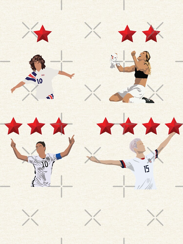 USWNT 4 Stars by Hevding
