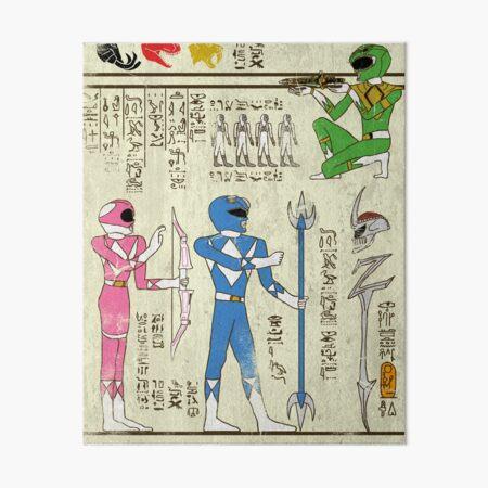 Hero-glphics: Power Art Board Print