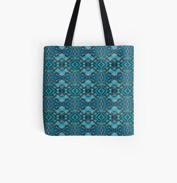 Lazy Plaid Scatter All Over Print Tote Bag