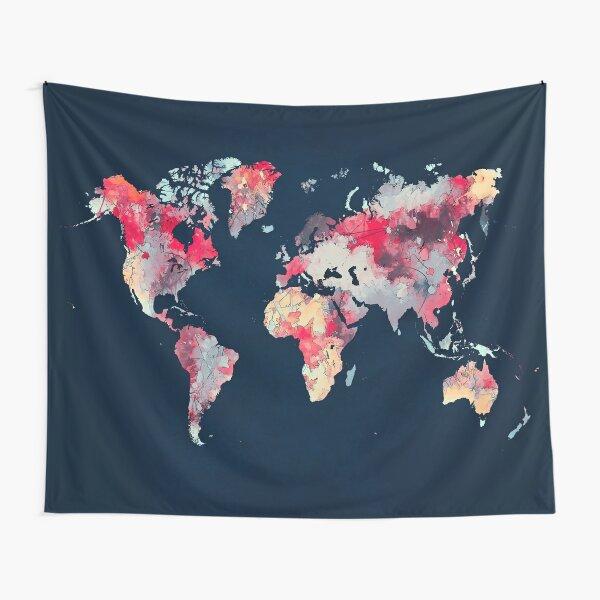 world map 69 #map #worldmap Tapestry