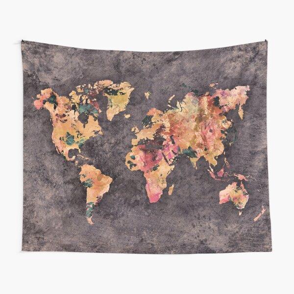 world map 68 #map #worldmap Tapestry