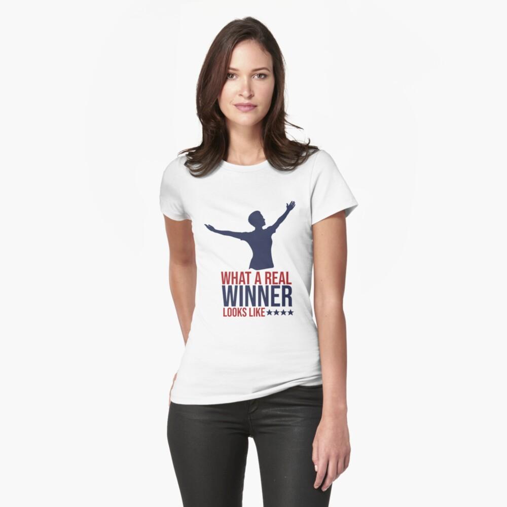 Megan Rapinoe - Real Winner Fitted T-Shirt