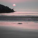 Dusk Falling at Port Maitland Beach by Debbie  Roberts