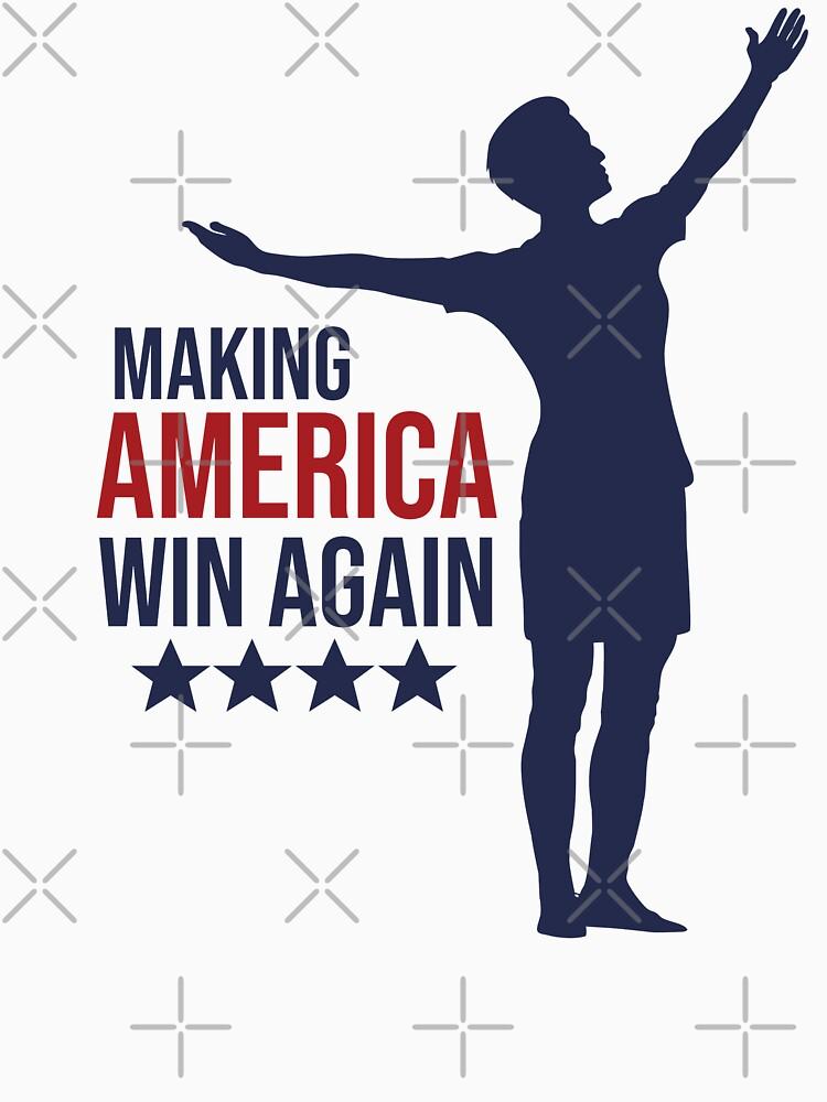 Megan Rapinoe - MAWA Making America Win Again - Right by ZeldaDoodle
