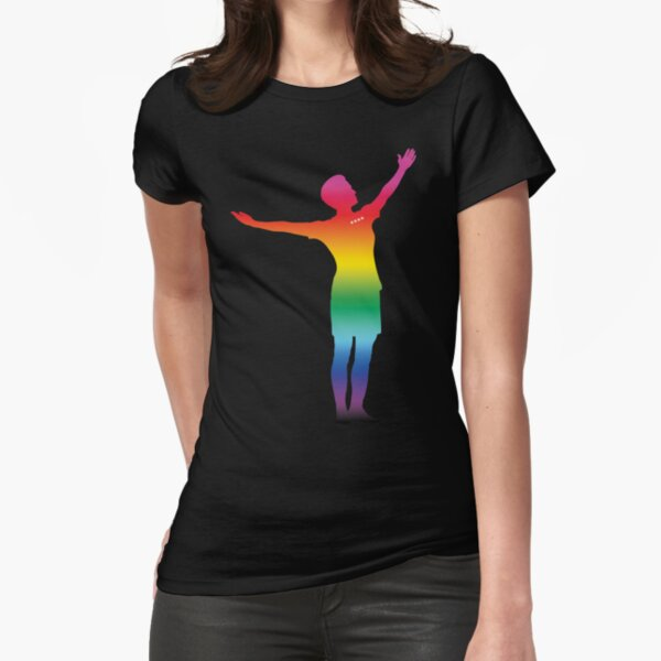 Megan Rapinoe - PRIDE CHAMPION VERSION Fitted T-Shirt