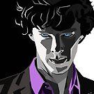Sherlock-Porträt von schwebewesen
