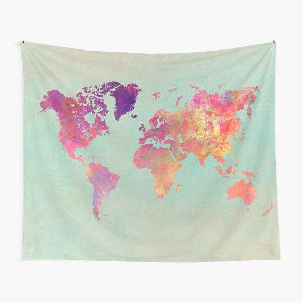 world map 102 #worldmap #map Tapestry