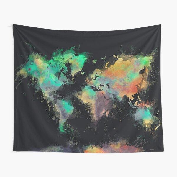 world map 107 #worldmap #map Tapestry