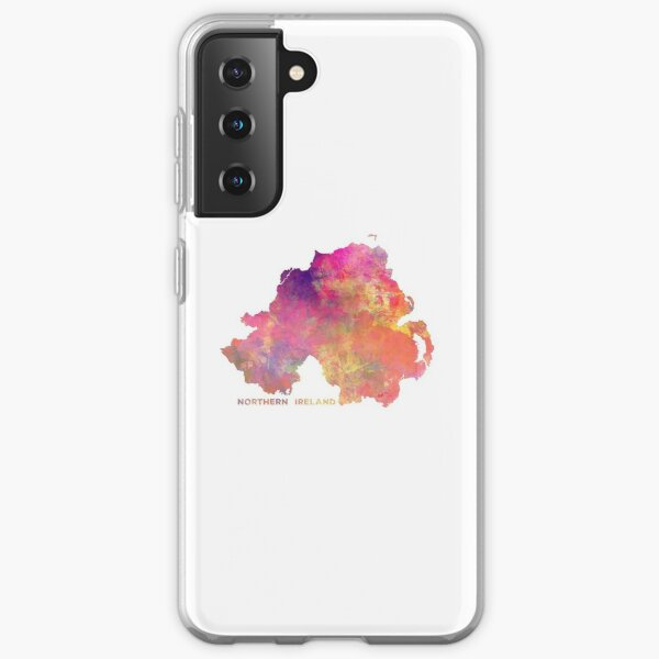 Northern Ireland #map #ireland Samsung Galaxy Soft Case