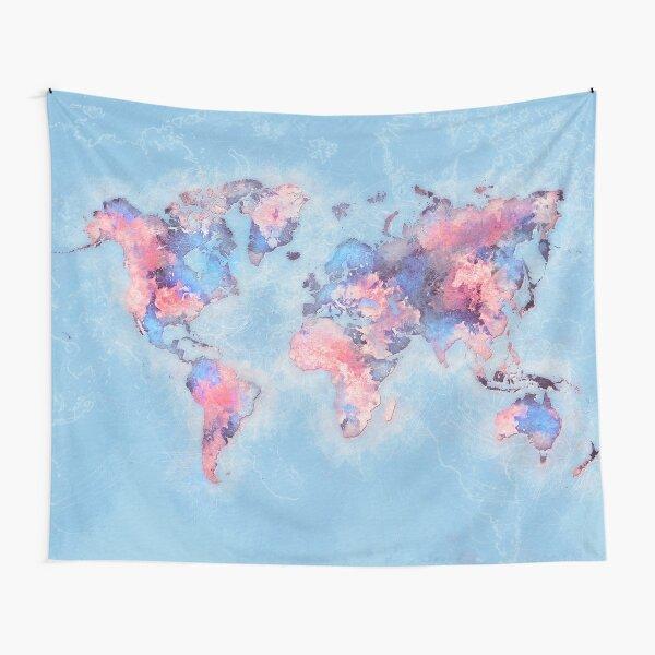 world map 110 #worldmap #world #map Tapestry