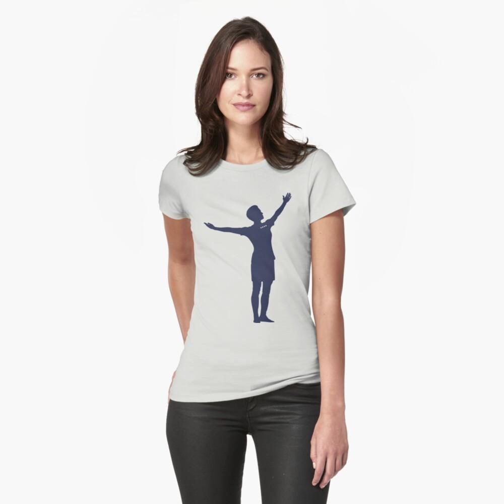 Megan Rapinoe - Shot Heard Round the World Fitted T-Shirt