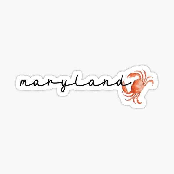 Maryland Sticker