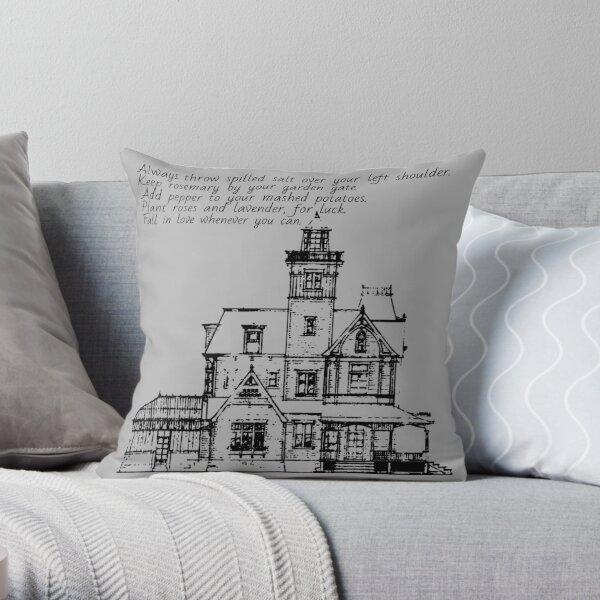 practical magic house rules Throw Pillow