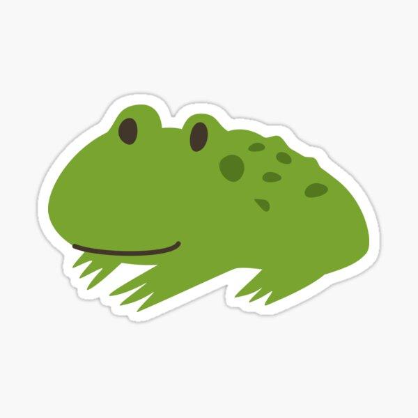 Handsome Toad Sticker