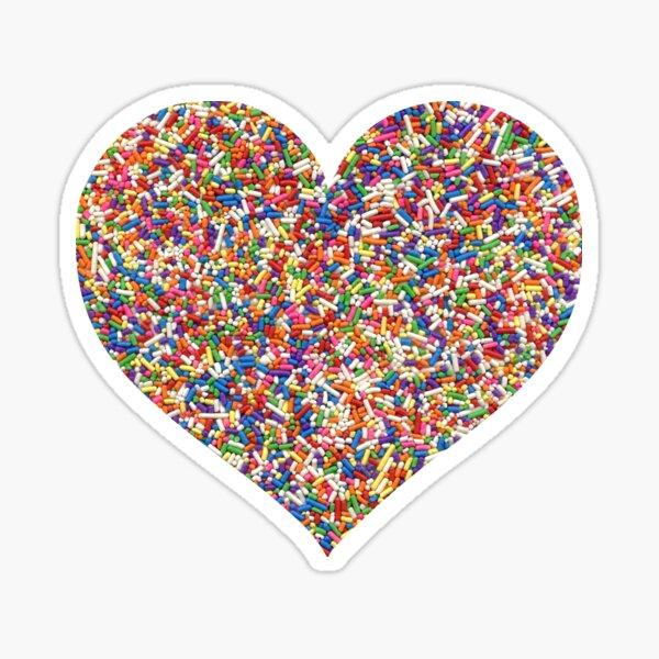 Rainbow Sprinkles Sticker