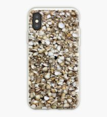 Cockle shells texture iPhone Case