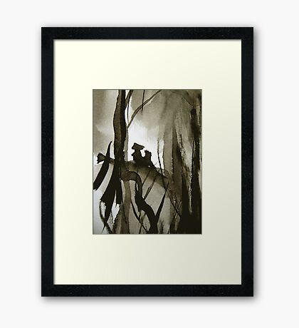 witnesses... Framed Print