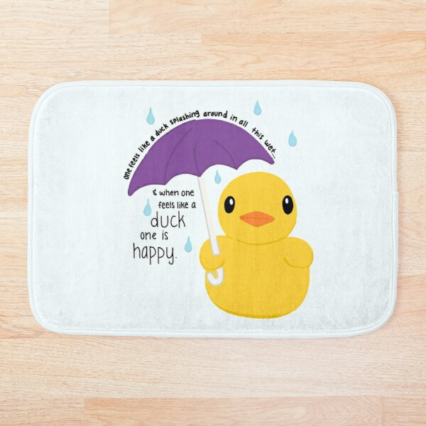Duck Bath Mat