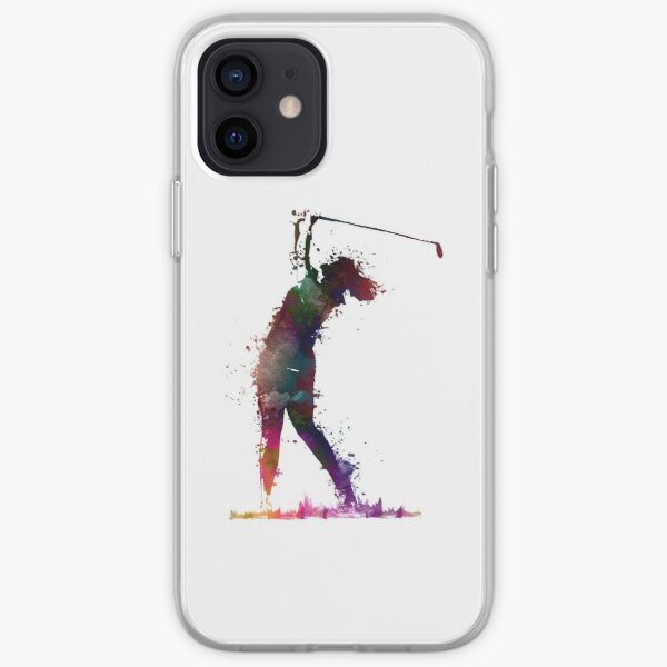 Golf player 2 #sport #golf iPhone Soft Case