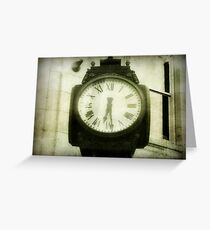 Time keeps on ticking ©  Greeting Card