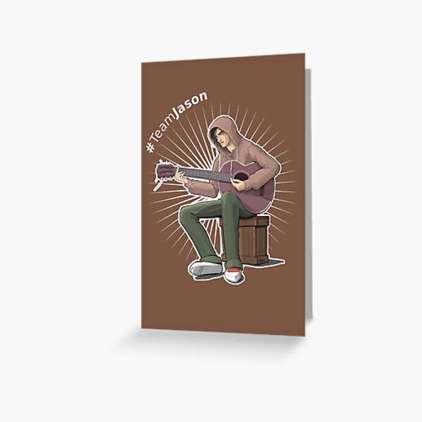 Jason Grant - Something Like Characters Greeting Card