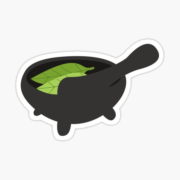 Herbology Mortar and Pestle Sticker