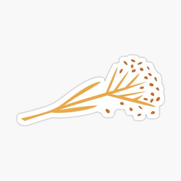 Dried Fennel Stalk Sticker