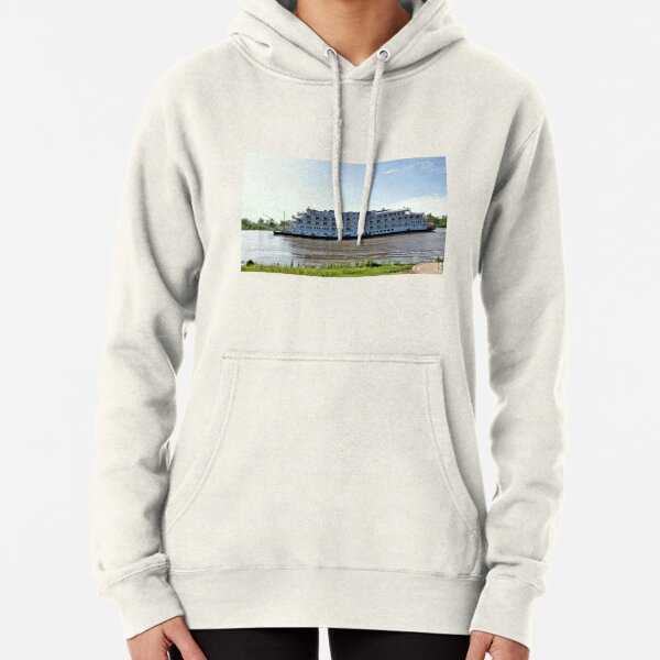 Queen Of The Mississippi River Baot 4 Pullover Hoodie