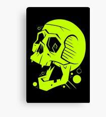 Toxic Scream Canvas Print
