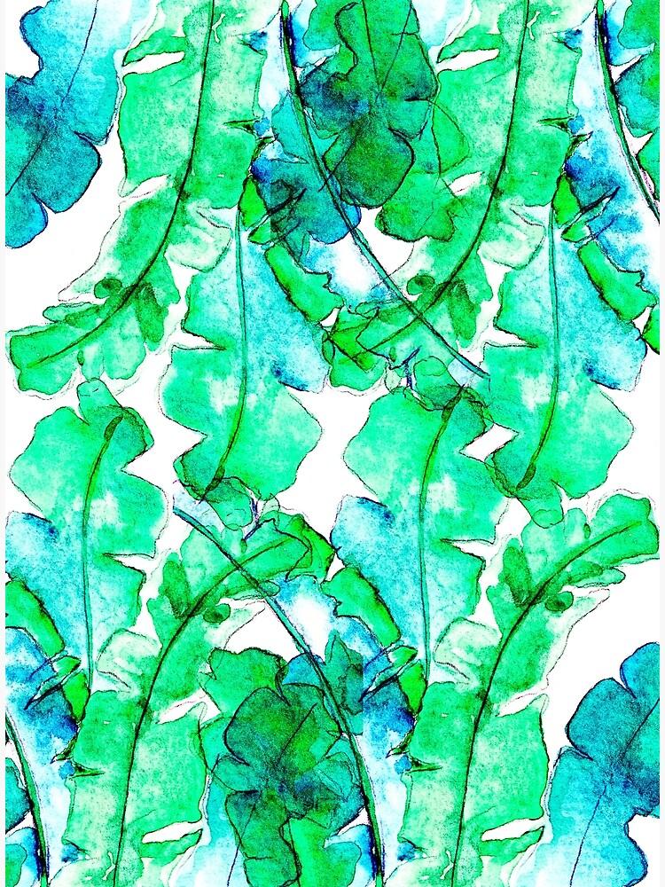 Bananen Blätter Tropisch von RanitasArt