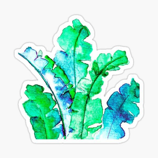 Bananen Blätter Tropisch Sticker