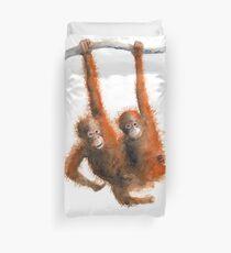 cheeky monkeys Duvet Cover
