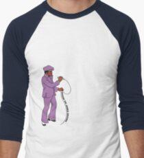 Diggin' on James Brown Men's Baseball ¾ T-Shirt