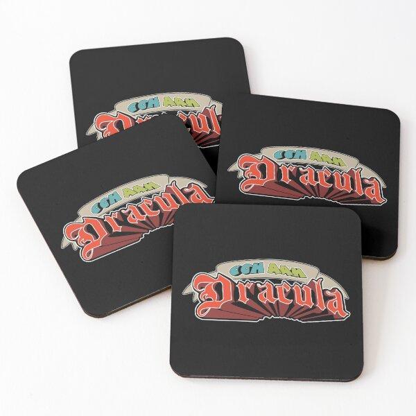Ooh Aah Dracula Coasters (Set of 4)