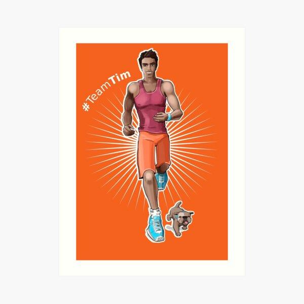 Tim Wyman - Something Like Characters Art Print