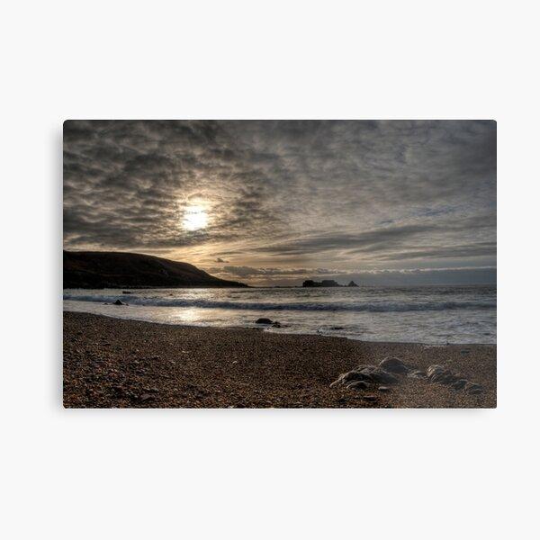 Clonque Bay, Alderney Metal Print