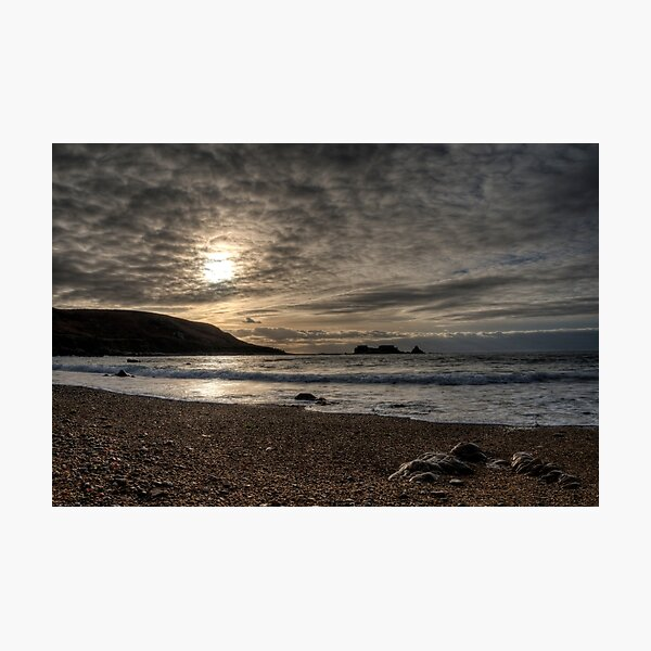 Clonque Bay, Alderney Photographic Print
