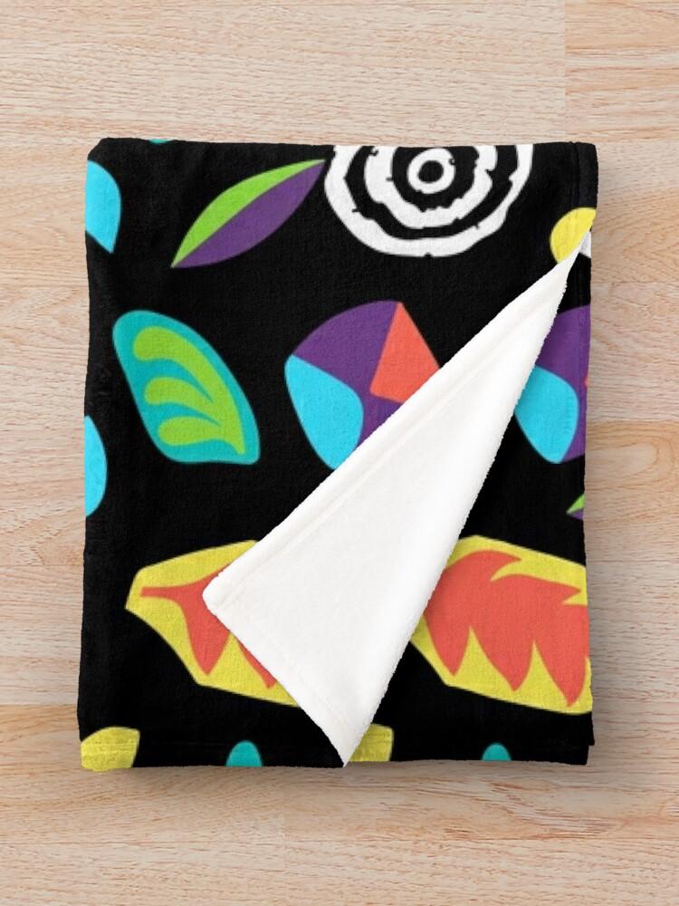 Alternate view of Eleven romper pattern Throw Blanket